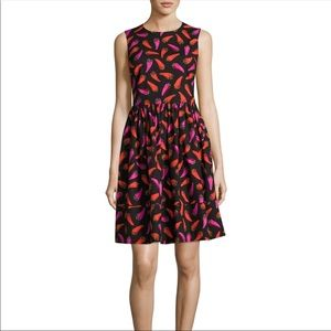 Kate Spade Hot Pepper Fit and Flora Dress NWT